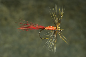 Beadhead Orange Fly