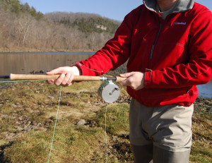 Two-Handed Flyrod Grip