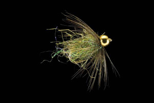 Kingrey's Bead Caddis Pupa (Olive) Fly