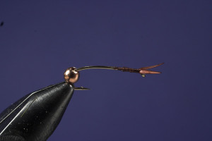 Tying Hares Ear Step 1