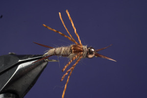Tying Hare's Ear Step 12