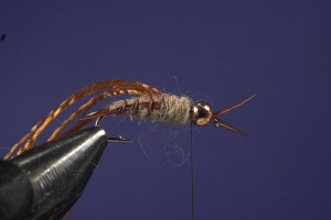 Tying Hare's Ear Step 9