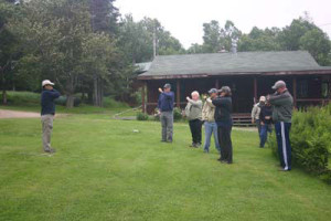 Group Fly Casting Instruction