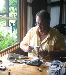 Klausmeyer Fly Tying by Window Light