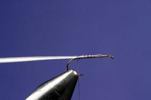 Making A Caulk Midge Fly: Step 1