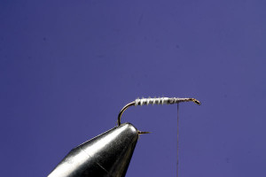 Making A Caulk Midge Fly: Step 2