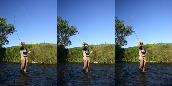 High Stick Fly Rod Demo