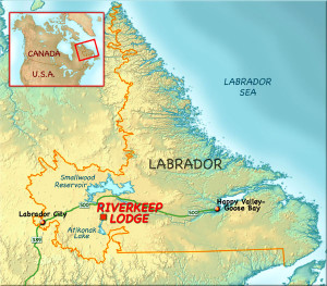 Map of Labrador