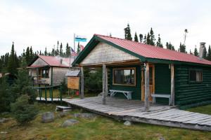 Riverkeep Lodge is on the banks of Atikonak Lake