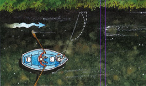 Illustration: Casting From A Drift Boat
