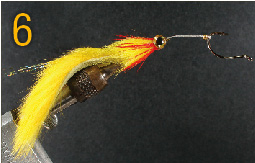 Tying The Pike Saver Fly Step 6