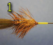 Adding Coneheads to the Ball Head Bunny Fly - Tying Illustration, Figure: 1