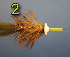 Adding Coneheads to the Ball Head Bunny Fly - Tying Illustration, Figure: 2