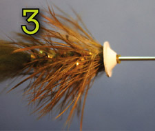 Adding Coneheads to the Ball Head Bunny Fly - Tying Illustration, Figure: 3