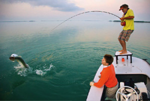 Andy Mill Fighting Tarpon