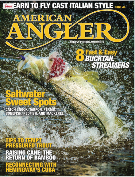 American Angler March 2016 Cover