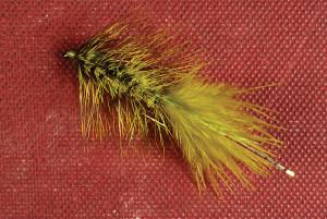 olive bugger fly