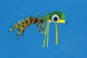 Deer Hair Pond Frog fly