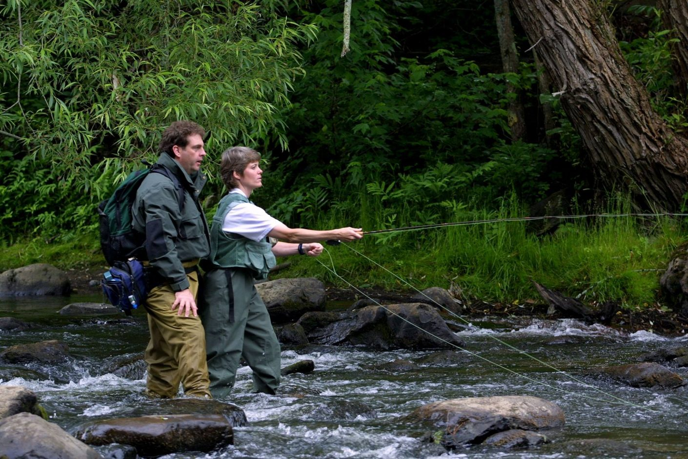 Vermont repeals felt sole ban american angleramerican angler for Fish and wildlife