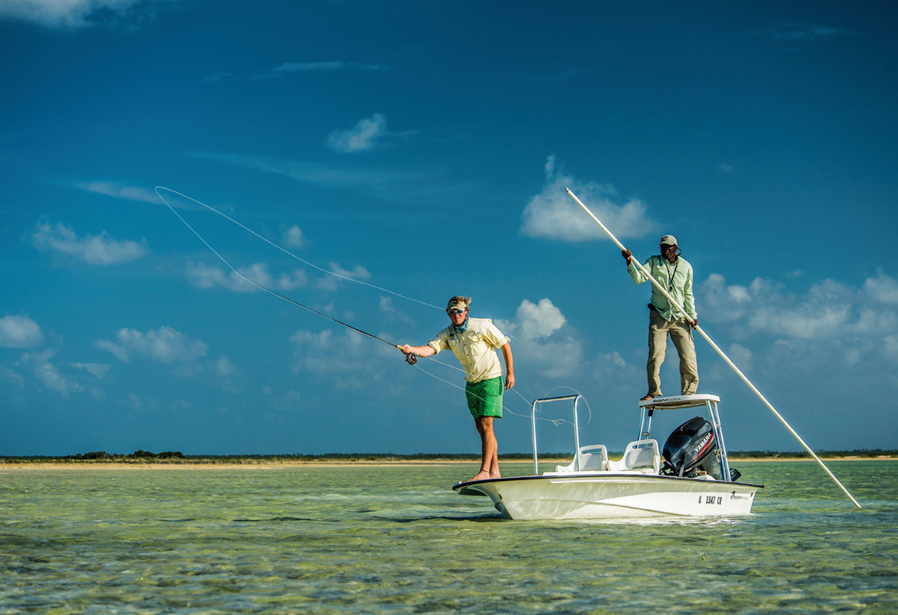 Oliver White has 29 full-time Bahamian employees and guides generating money for the local economy.