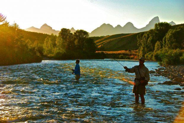 Fly Fishing Lodge – Wyoming