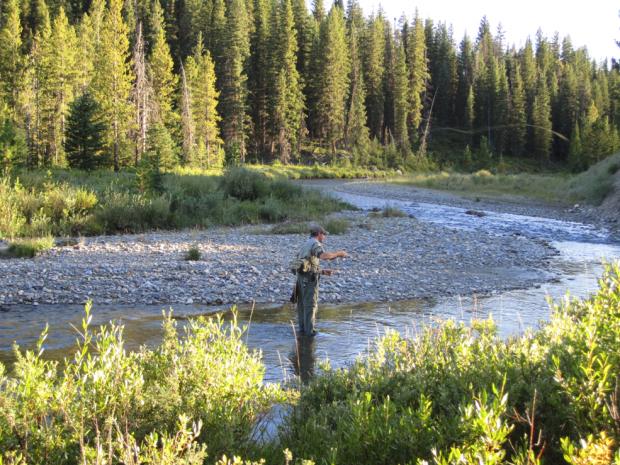 Fly Fishing Lodge – Montana