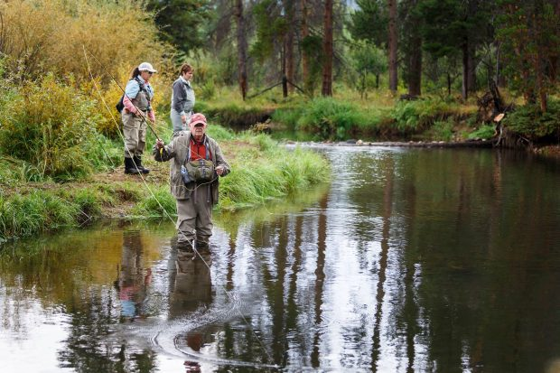 Fly Fishing Lodge – Colorado