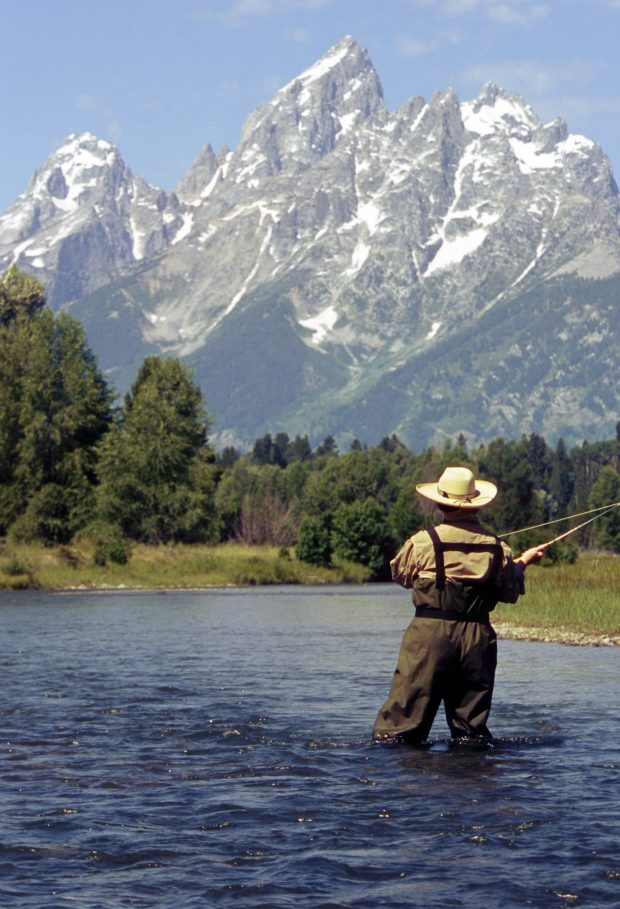 Fly Fishing Lodge – Wyoming